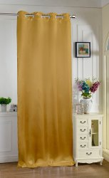 Lushomes Torronto Silk Plain Curtain Door