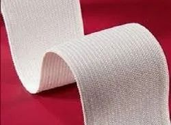Twill, Plain Weave Organic Cotton Narrow Tapes, Size: from 1/2 inch to 4 inch, for Clinical