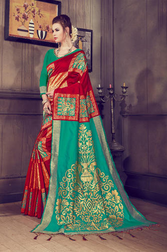 6de8f45c69 Silk Plain Kanjeevaram Saree, Rs 1399 /piece, T-zone Trading Co ...