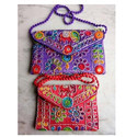 Rajasthani Embroidered Cotton Bags