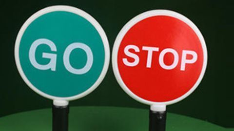 Road Safety Equipments - TRAFFIC BATON LIGHT - STOP GO