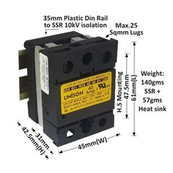 40 AMP RANDOM DC TO AC SOLID STATE RELAY
