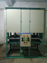 Disposable Thali Dona Making Machine