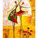 Naag Canvas Nigro Lady Art Painting
