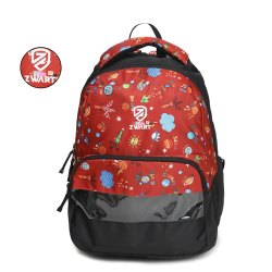 Jupiter-S-Red School Bag