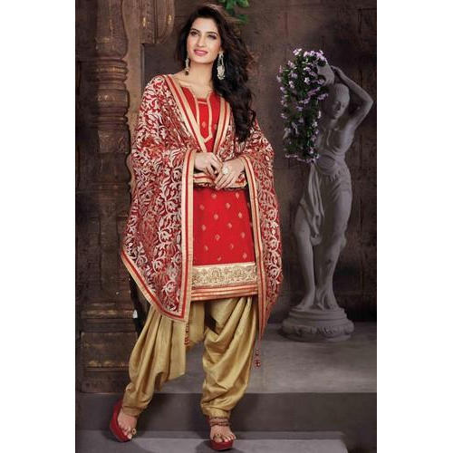 d3c64e5b5d Cotton Party Wear Patiala Salwar Kameez, Rs 1200 /piece, Pooja ...