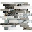 Highlighter Orient Silver Wood Wall Tiles
