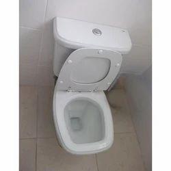 Cera White EWC European Toilet Seat