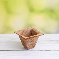 Coir Garden 4.1 Inch Spanish Coir Pot