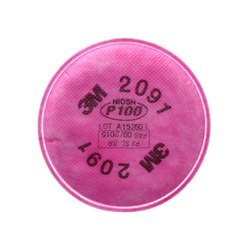 3M 2091 P100 Filters (Pair)