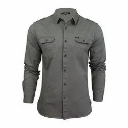 Mens Plain Readymade Formal Shirt