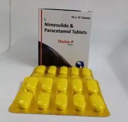 Nimuslide, Paracetamol Tablets