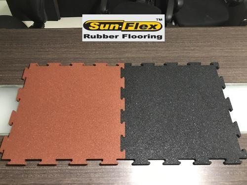 And Sunflex Interlocking Gym Rubber Flooring Rs Square Feet - Mate flex flooring