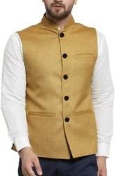 Nehru Jacket (Beige Color)