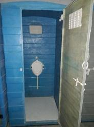 FRP Portable Gents Urinal Cabins