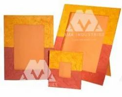 Mixed Printed Paper Photo Frame Products, Packaging Type: Custmised
