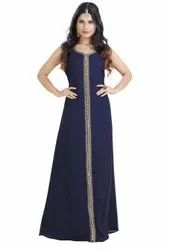 Simple Night Wear Maxi Dress For Ladies