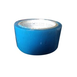 Plain Bopp Blue Tape