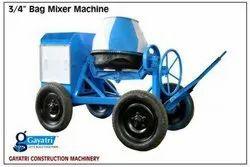3/4 Bag Concrete Mixer Machine