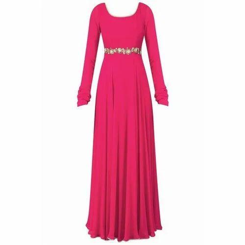 Fancy Red Maxi Dress