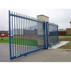 Blue Stainless Steel Automatic Gate