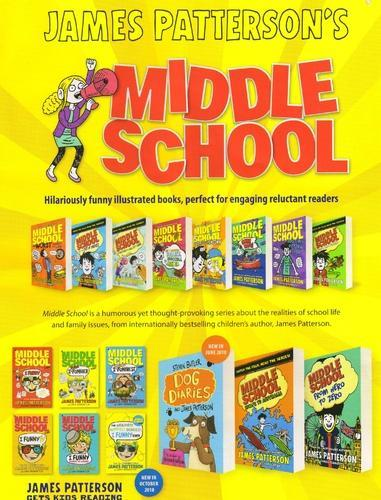 Middle School James Patterson Book Series At Rs 299 Piece Story