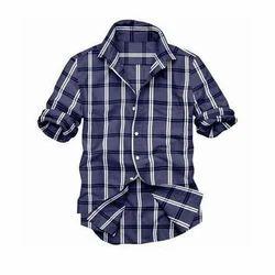 Checked Men's Casual Shirt