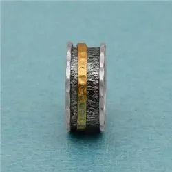 925 Sterling Silver Classic Designer Spinner Ring