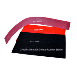 Rubber Groove Sheet for Stamping