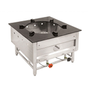 Heavy Duty Ss Single Burner Gas Bhatti For Hotel, Restaurant