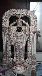 Lord Balaji With Special Stone Studded Kavacham 3 FT