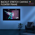 Backlit Wooden Stretch Frame Canvas Prints with LED Light Box