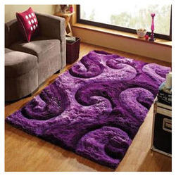 Polyester Shaggy 3D Carpets