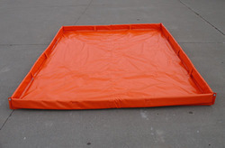 Supremex Red Spill Containment Berm Pallets, For Industrial