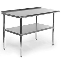 Silver Ss Kitchen Cutting Table