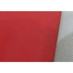 Lamicoats Plain Red Sapphire Synthetic Leather Fabric, 650 Gsm, Thickness: 0.90 Mm