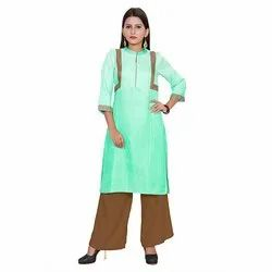 Ladies Casual Ombre Kurti