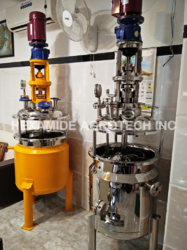 Stainless And Mild Steel Pressure Vessel, Capacity: 100-500 L And >10000 L