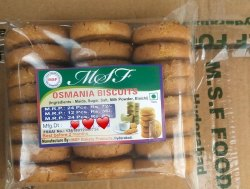 MSF Elaichi Hyderabadi Osmania Biscuits, Packaging Type: Box