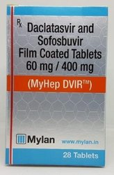 Daclatasvir and Sofosbuvir Film Coated Tablets
