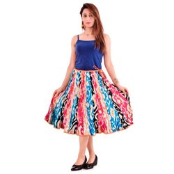BR Enterprises Short Cotton Skirt