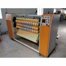 Semi Automatic 3 Phase Adhesive Tape Making Machine, Production Capacity: 80 Box