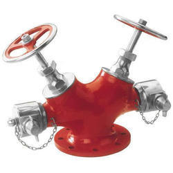 SS Double Outlet Hydrant Landing Valves