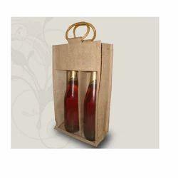 Two Wine Bottle Bag