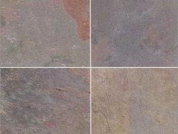 External,Gloss Kund Multi Slate, For Wall Tile, Thickness: 10-15 Mm