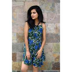 Silk Wax Batik Prints Women Garments