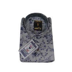 Mens Full Sleeves Cotton Printed Shirt