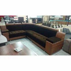 Brilliant L Shape Tight Back Leather Sofa Set Spiritservingveterans Wood Chair Design Ideas Spiritservingveteransorg