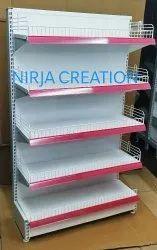 Free Standing Supermarket Display Racks