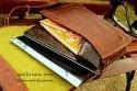 Leather Messenger Bag for Men's